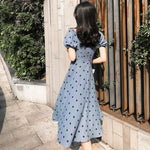 GareMay 2020 Summer Dress Women Midi Party Korean Style