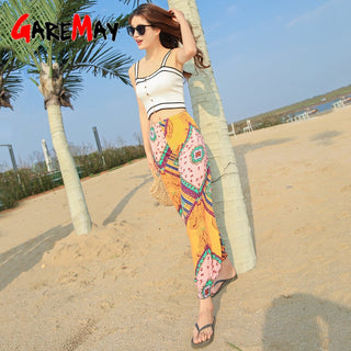 2020 Casual Women's Capris Summer Pants Cotton