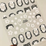3d nail art sticker EA SERIES Template Decals Tool DIY Nail Decoration Tools