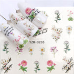 Nail Art Nail sticker2019 New Slider Tattoo Flower