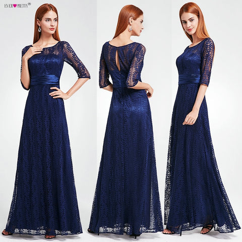 Women's Elegant Long Mother of the Bride Dresses 2019