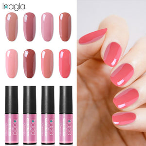 Gel Nail Polish UV Semi Permanent  Nude Colors