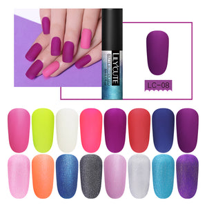 Matte Top Coat Primer Color Nail Gel
