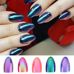 Chrome Nails STILETTO Fake Nail