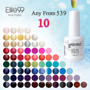 15ml UV Gel Nail Gel Lacquer Curing Top Coating Base