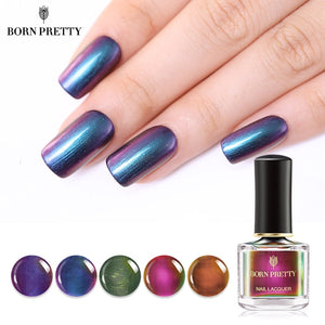 Chameleon Nail Polish 6ml Metal Mirror Effect
