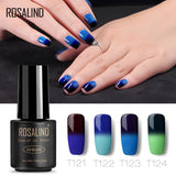 Gel Nail Polish Temperature Changing Color 2019