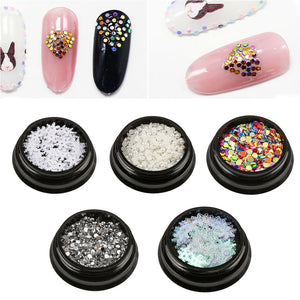 Diamonds Dazzling Tips Nail Sequins Colorful 2019