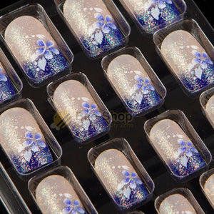 Full Cover 24pcs Acrylic Full Cover Nail Tips False Nail