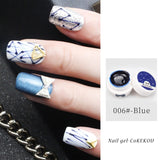 Nail Creative Stretching Gel Painting Flower