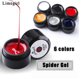 Wire Drawing Nail Gel Spider Web Creative Line
