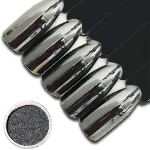 0.5g/Box Nail Glitter Import Metal Black