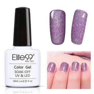 Colorful Bling Neon Colors Gel Nail Polish 10ml