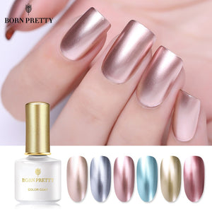 Mirror Metal Nail Art Soak Off UV Gel Polish Nail Art