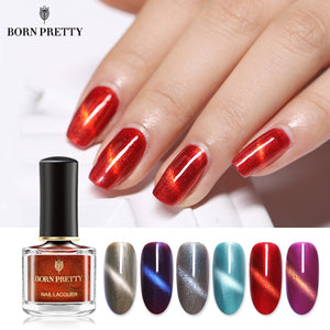Cat Eye Nail Polish 6ml Waterborne Odorless 3D Magnetic Effect