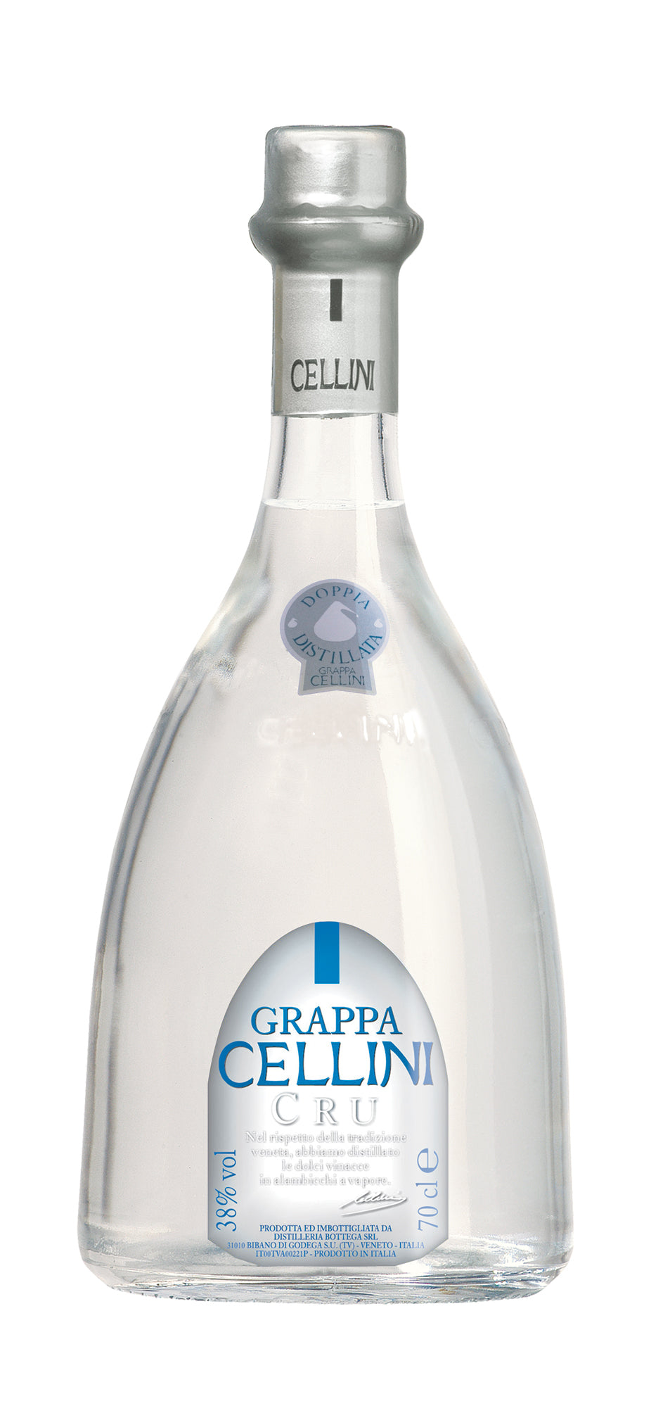 CELLINI GRAPPA Cru / 0,7l / 38%vol