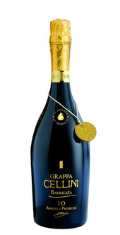 CELLINI GRAPPA Prosecco di Barricata, 10 Annate / 0,7l / 38%vol