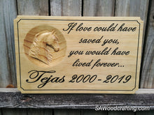 Load image into Gallery viewer, Personalized 3D Pet Memorial Name Plaque