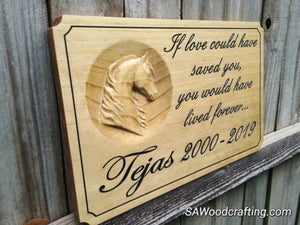 Personalized 3D Pet Memorial Name Plaque