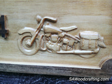 Load image into Gallery viewer, Custom Harley Motorcycle Biker Wedding Gift