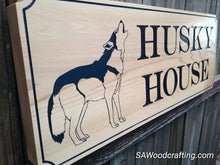 Load image into Gallery viewer, Personalized All Weather Outdoor Doghouse sign