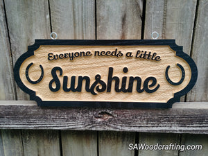 Extra Long Personalized Horse Stall Sign