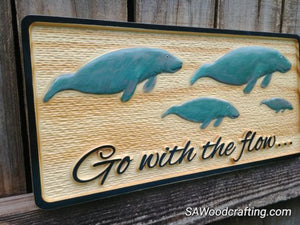 Nautical Tiki Bar sign with Sea Turtles
