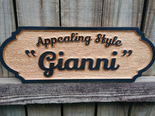 Load image into Gallery viewer, Horse Stall Unique Personalized Equine Wood Name Sign
