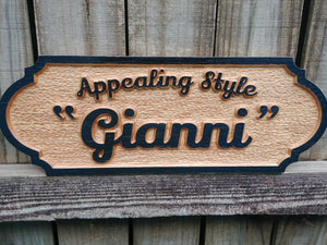 Horse Stall Unique Personalized Equine Wood Name Sign
