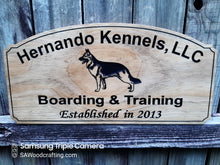 Load image into Gallery viewer, Custom Kennel Sign for Rena