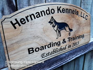 Custom Kennel Sign for Rena
