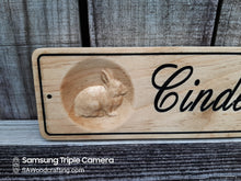 Load image into Gallery viewer, Personalized Farm Animal Name Sign, Custom Barn Sign, Pig Pen Sign, Chicken Sign