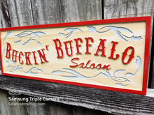 Load image into Gallery viewer, Custom wooden Saloon Bar sign
