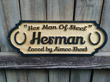 Load image into Gallery viewer, Personalized Horse Stall Sign