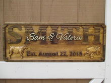 Load image into Gallery viewer, Personalized Farm Family Wedding Anniversary Custom Wood Gift sign