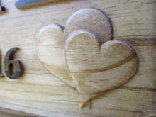 Load image into Gallery viewer, Personalized 3D Wood Carved Housewarming Gift