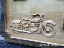 Load image into Gallery viewer, Custom Wedding gift with 3D Harley Davidson motorcycles