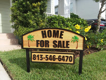 Load image into Gallery viewer, Custom Outdoor Home for Sale sign