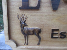 Load image into Gallery viewer, Personalized Wedding Gift Deer Buck