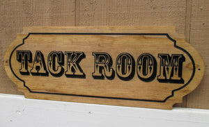 Custom wooden Horse Stable Feed Room sign, Tack Room sign, Barn Office sign