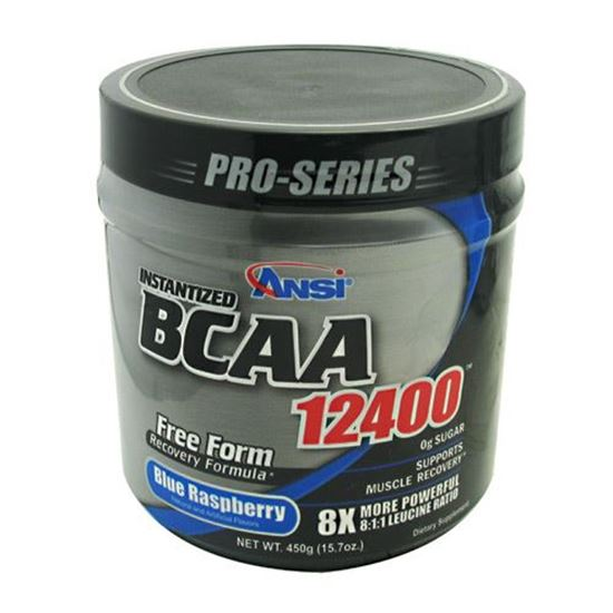 Advance Nutrient Science BCAA 12400 Blue Raspberry 450 g Amino Acid Supplement