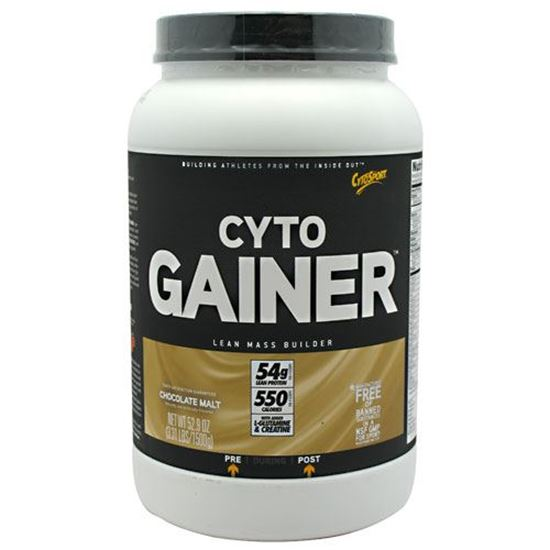 CytoGainer Chocolate Malt 3.31 lb Weight Gain Supplement