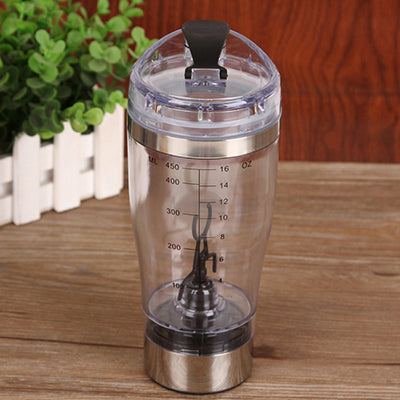 Electric Automatic Protein Shaker Water Bottle