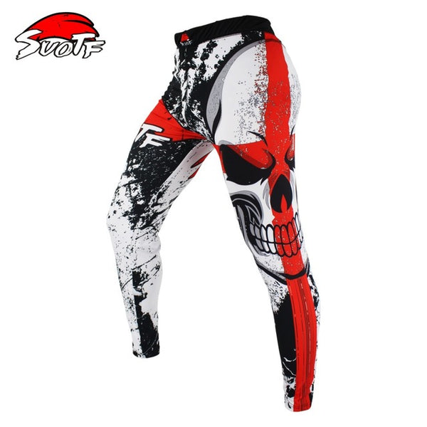 Boxing Set Compression Jersey+Pants Skull