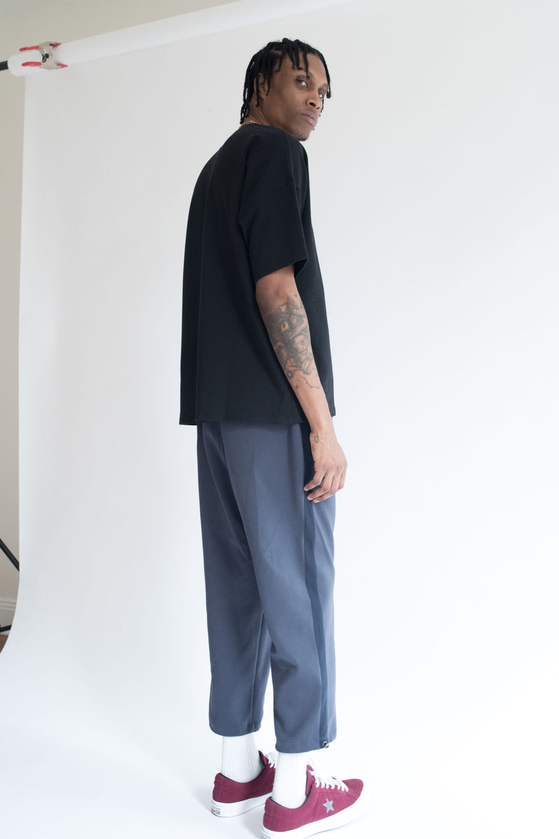 Heavyweight Oversize Tee in Black