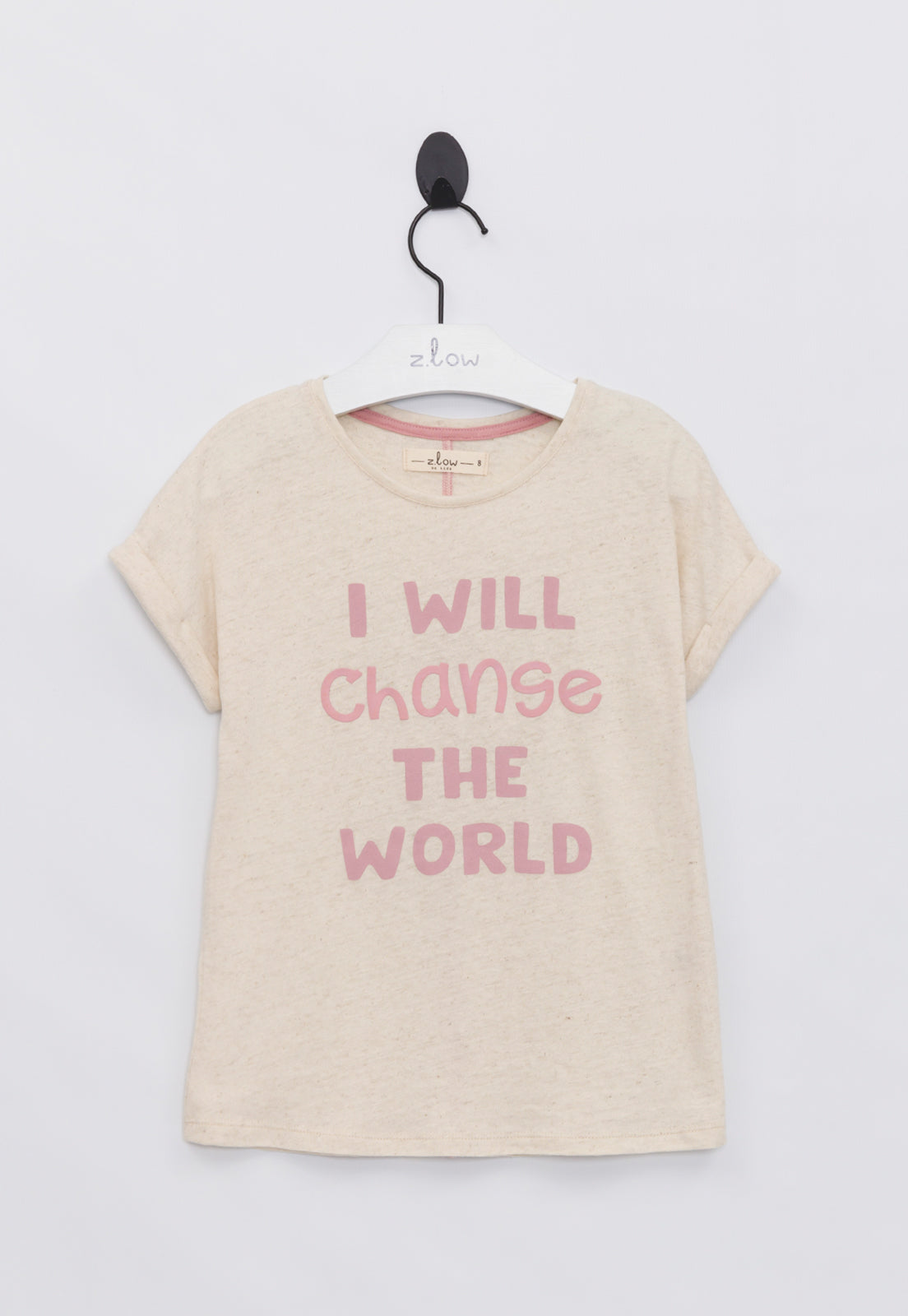 Blusa Confort I Will Change The World