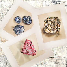 Signature Artisan Gemstone Trio (matted 16x20)- All 3 for $289!
