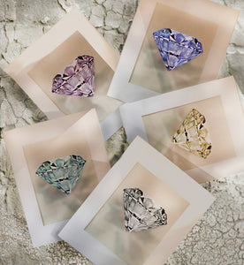 """Signature Gemstone"" Various Colors"