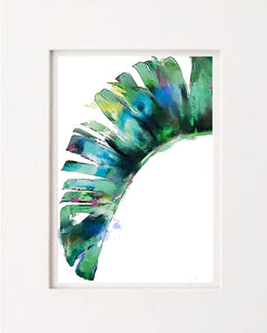 """Draping Palm"" Leaf"