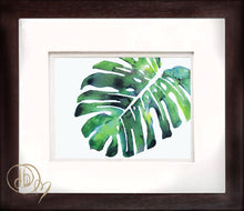 """Monstera Palm"" Leaf"